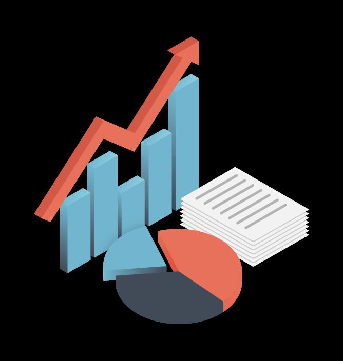 Graph Pie Chart Data Reporting
